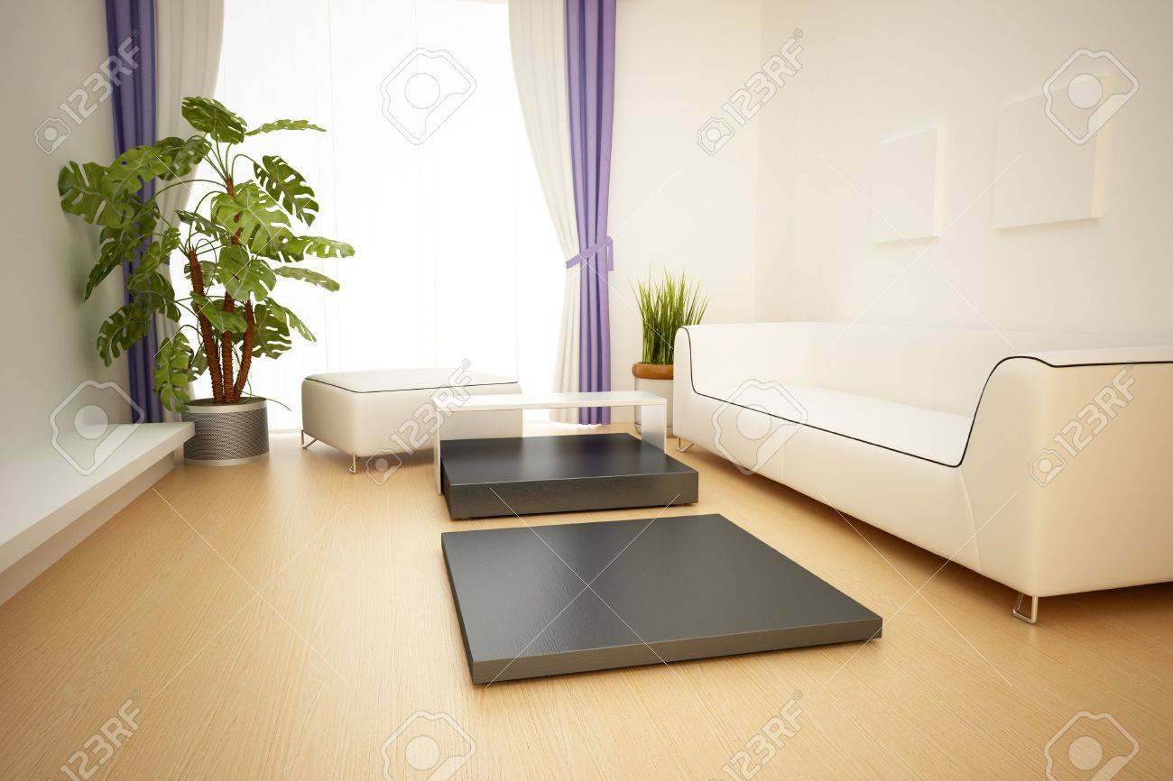 modern interior,3D rendering Stock Photo - 7047958