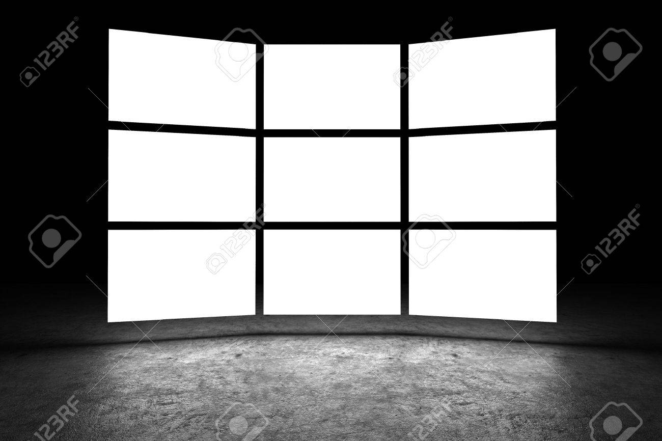Several light box with blank space Stock Photo - 7047968