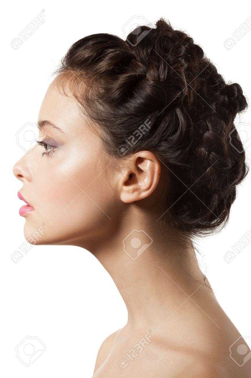 Фото красивых женских профилей 5 фотография