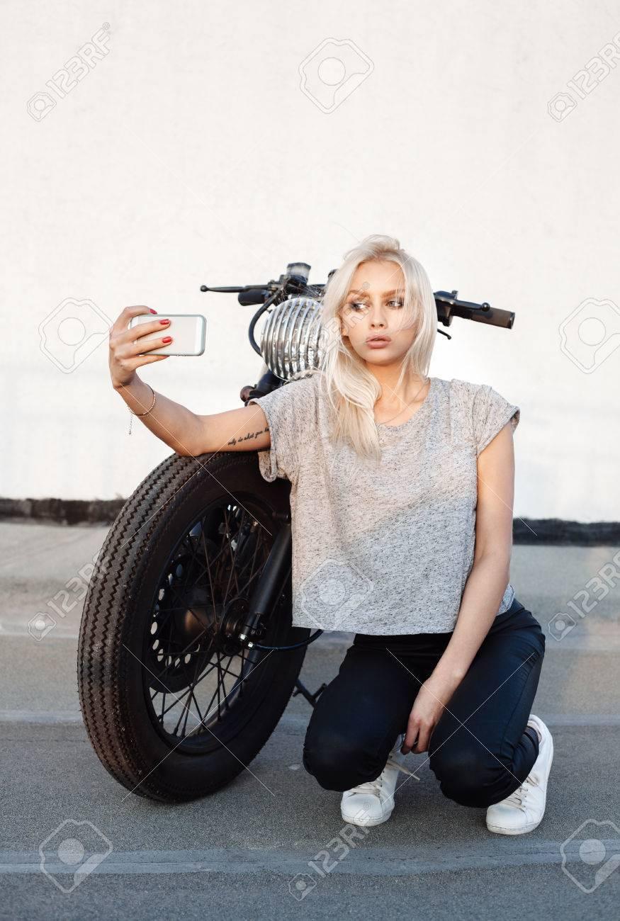 blonde-biker-girls-tits-castle