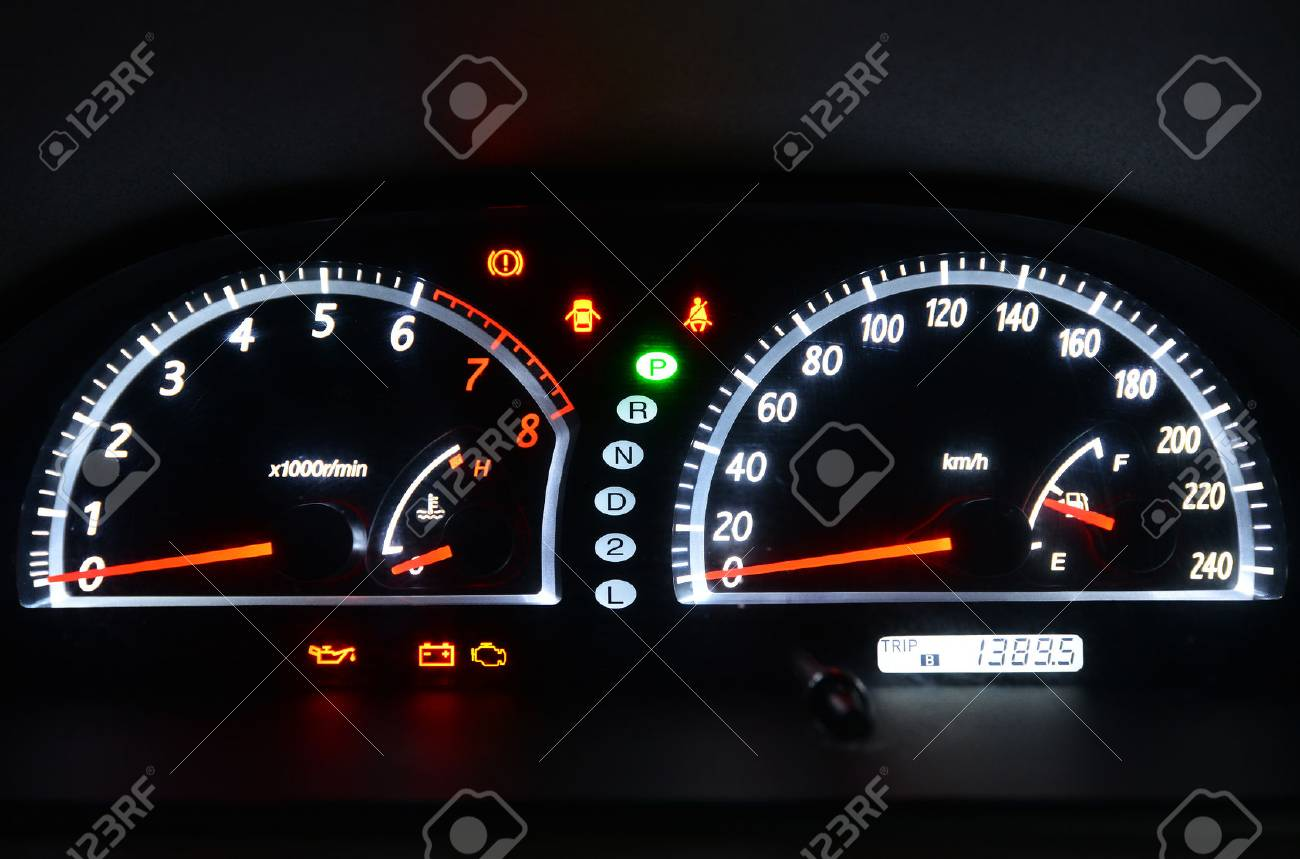Car Instrument Panel Stock Photo Picture And Royalty Free Image Image 42104629