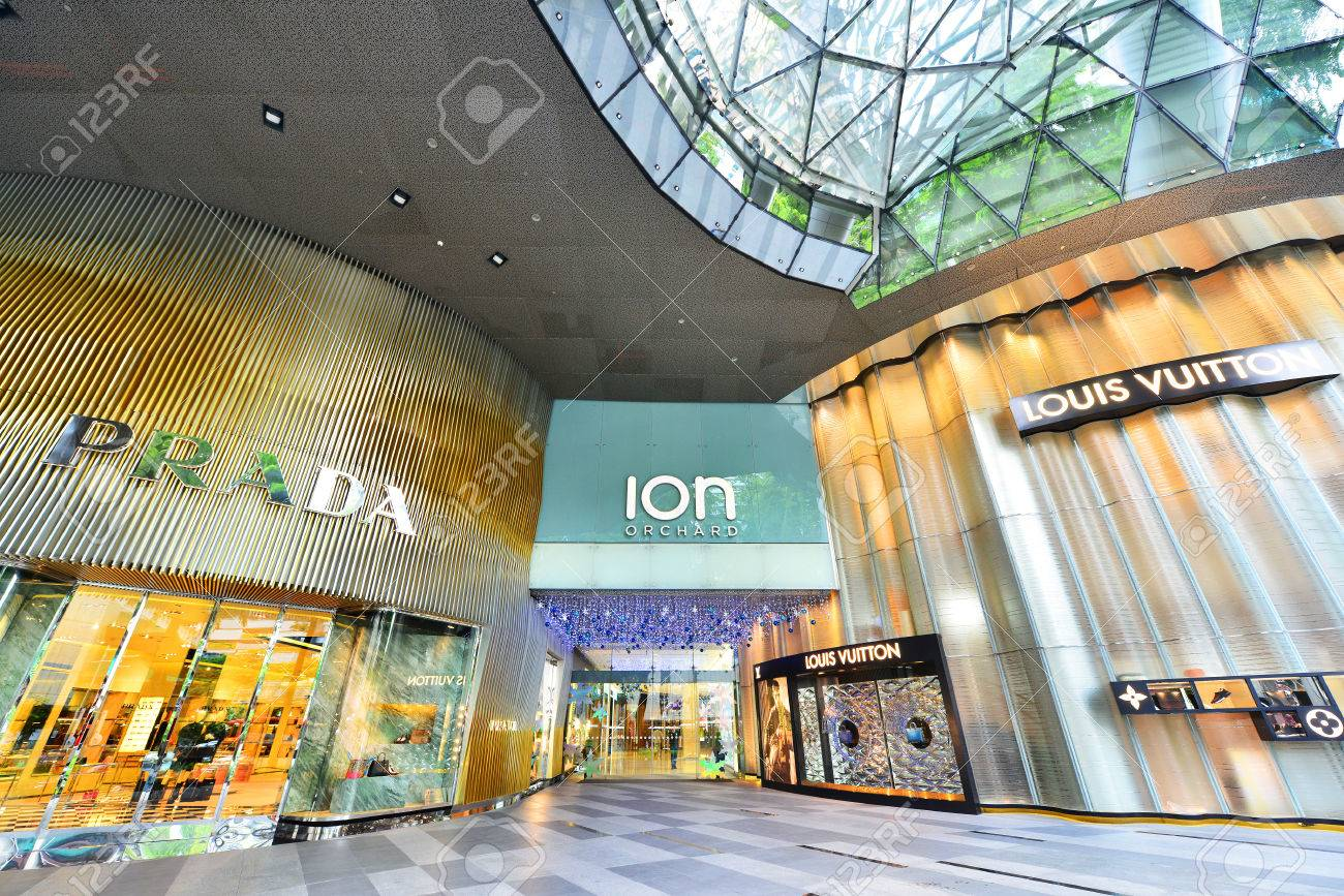 b746ae3b15 SINGAPORE - CIRCA November, 2015: ION Orchard - one the best shopping  centers on