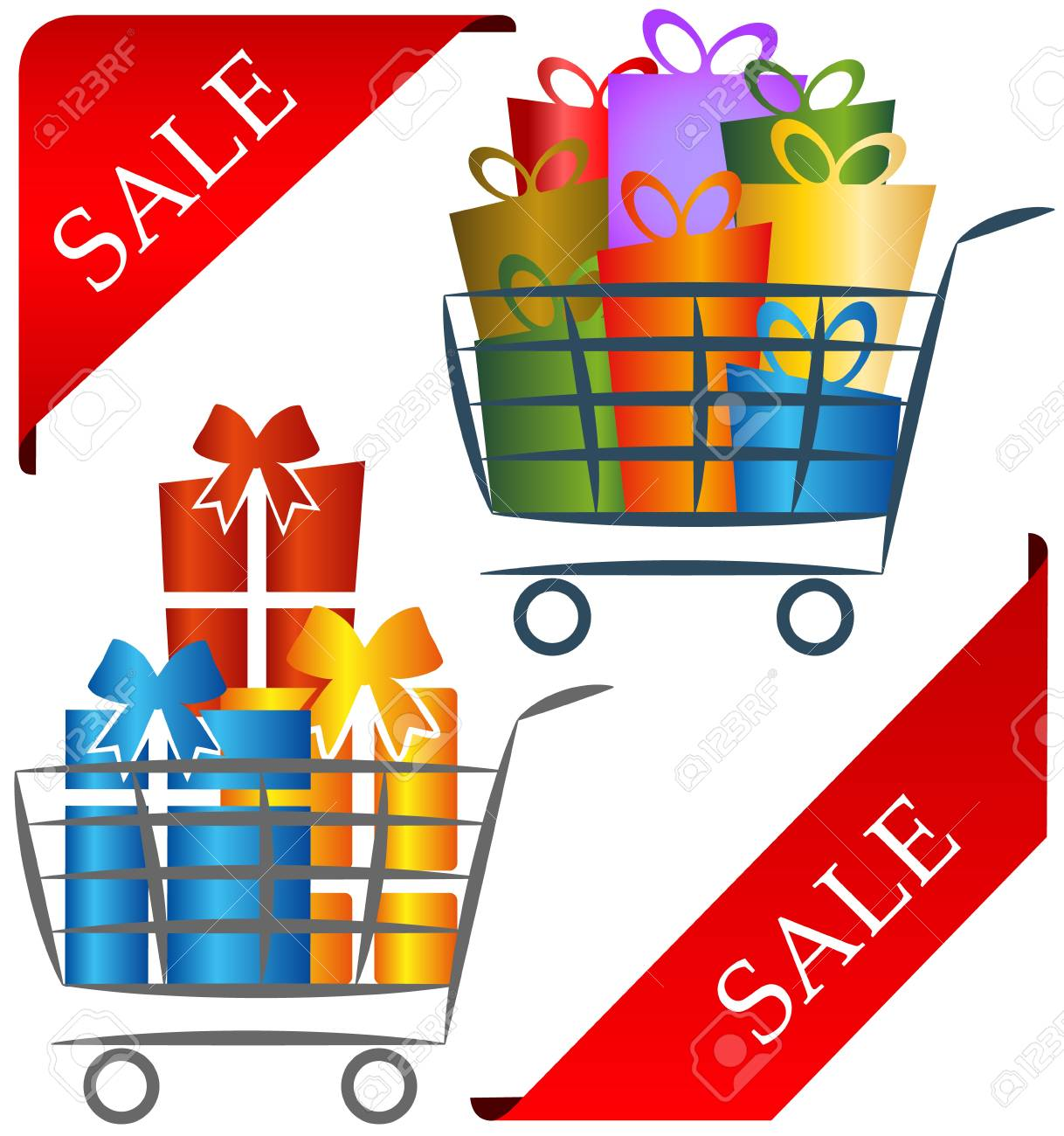 logo for business, shopping and gifts Stock Vector - 16626801