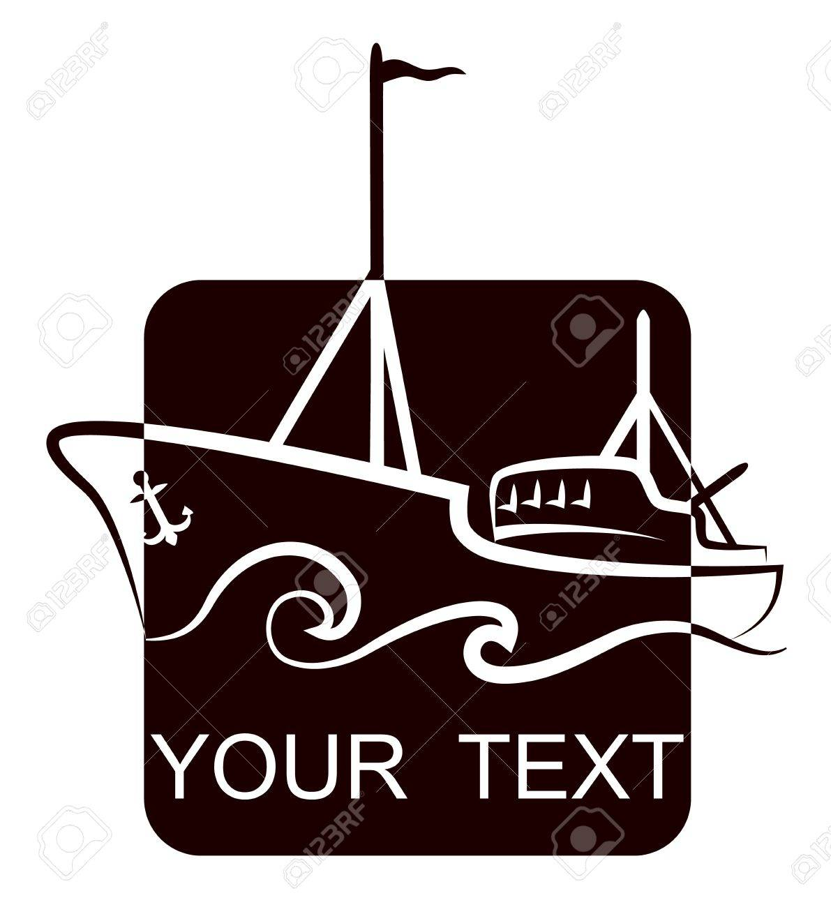 design a fishing vessel for fishing company Stock Vector - 17589714