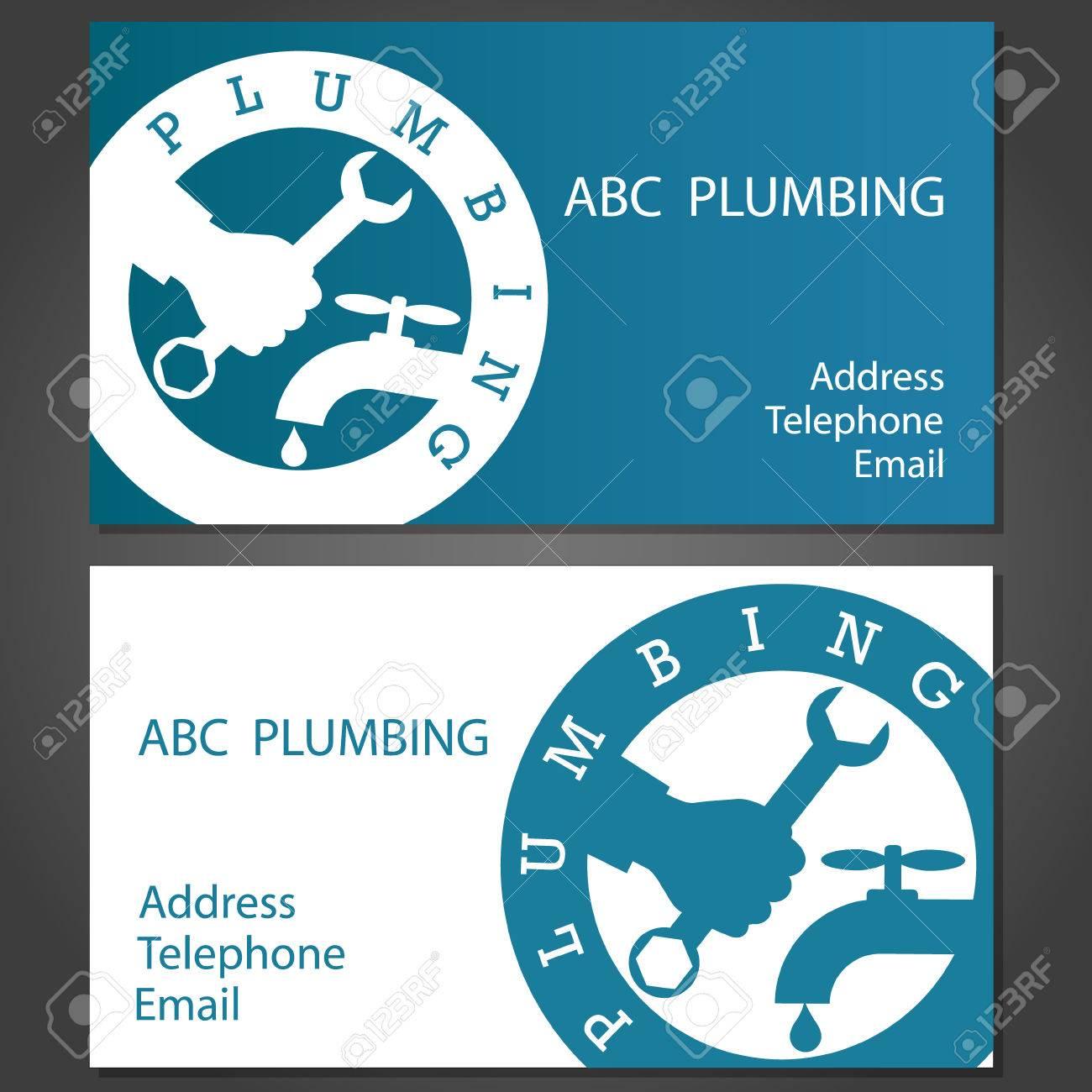 Design business cards for plumbing vector royalty free cliparts design business cards for plumbing vector stock vector 27204744 colourmoves