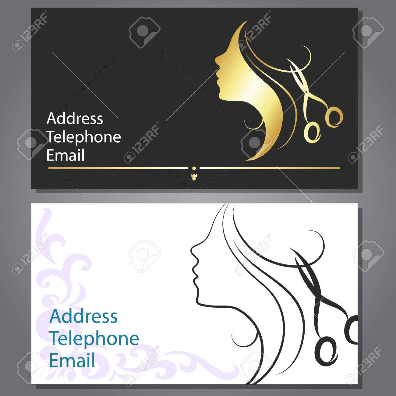 Design business card for hair and beauty salon royalty free cliparts design business card for hair and beauty salon stock vector 27204749 colourmoves Choice Image