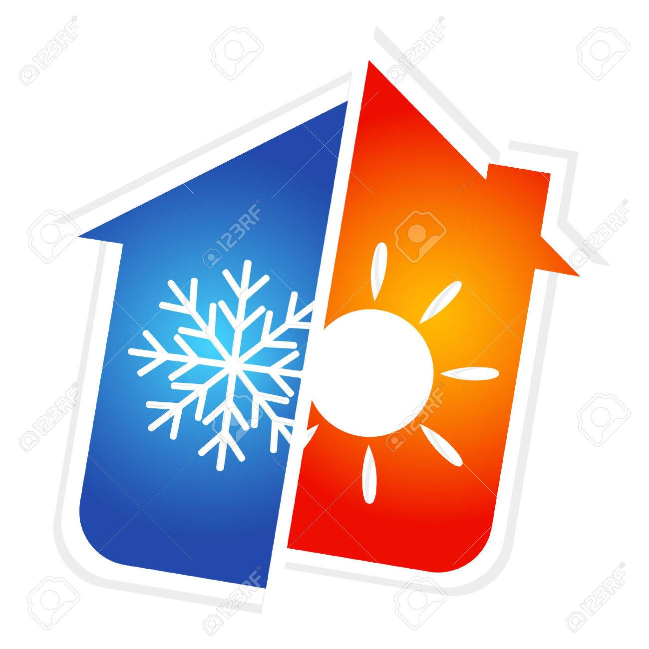 design for home air conditioner, vector - 28526717