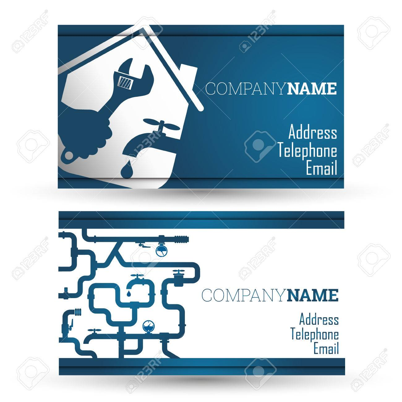 Master card stock photos royalty free master card images and pictures business card repair of plumbing and sanitary ware vector illustration magicingreecefo Images