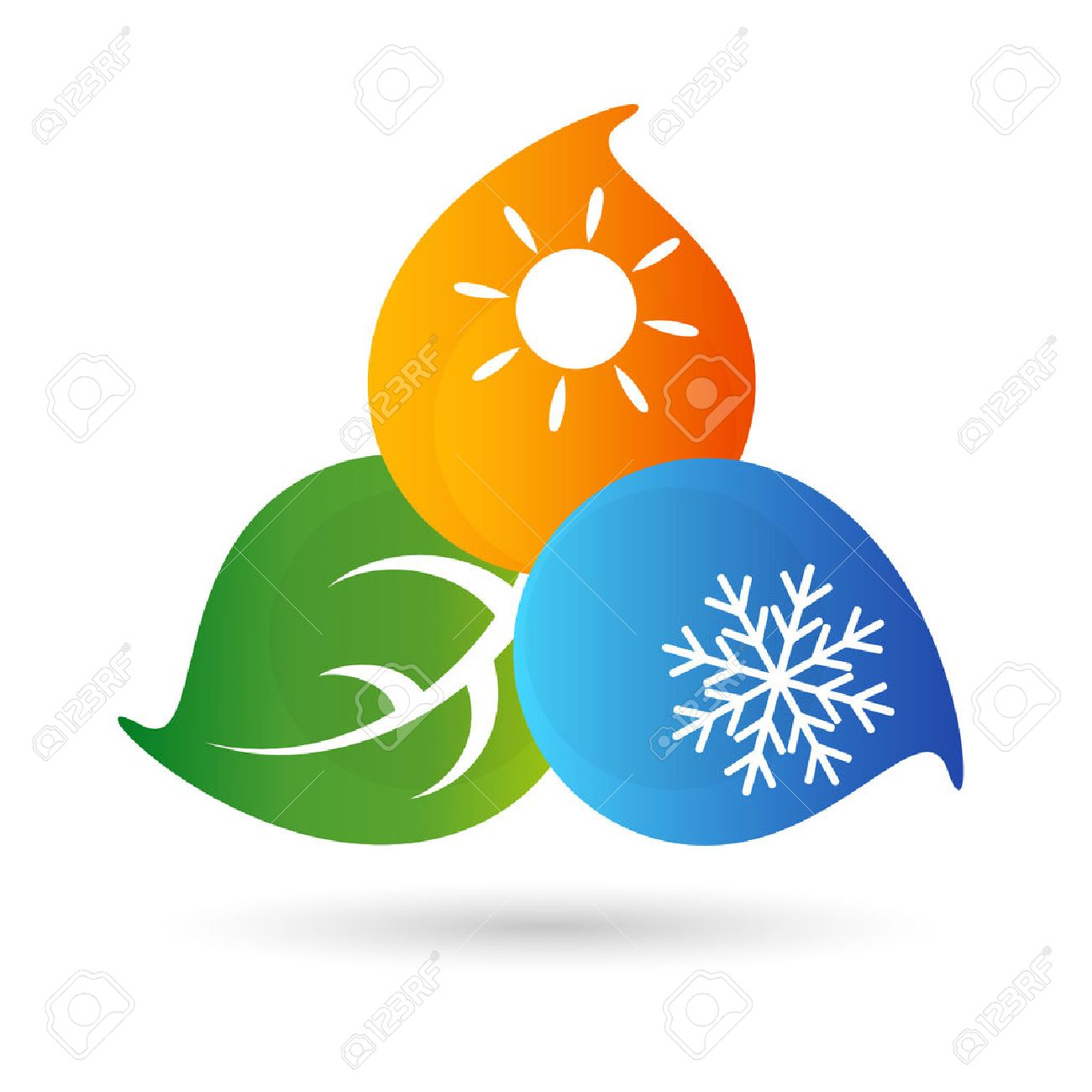 Air-conditioning environmental symbol for the vector - 45731902