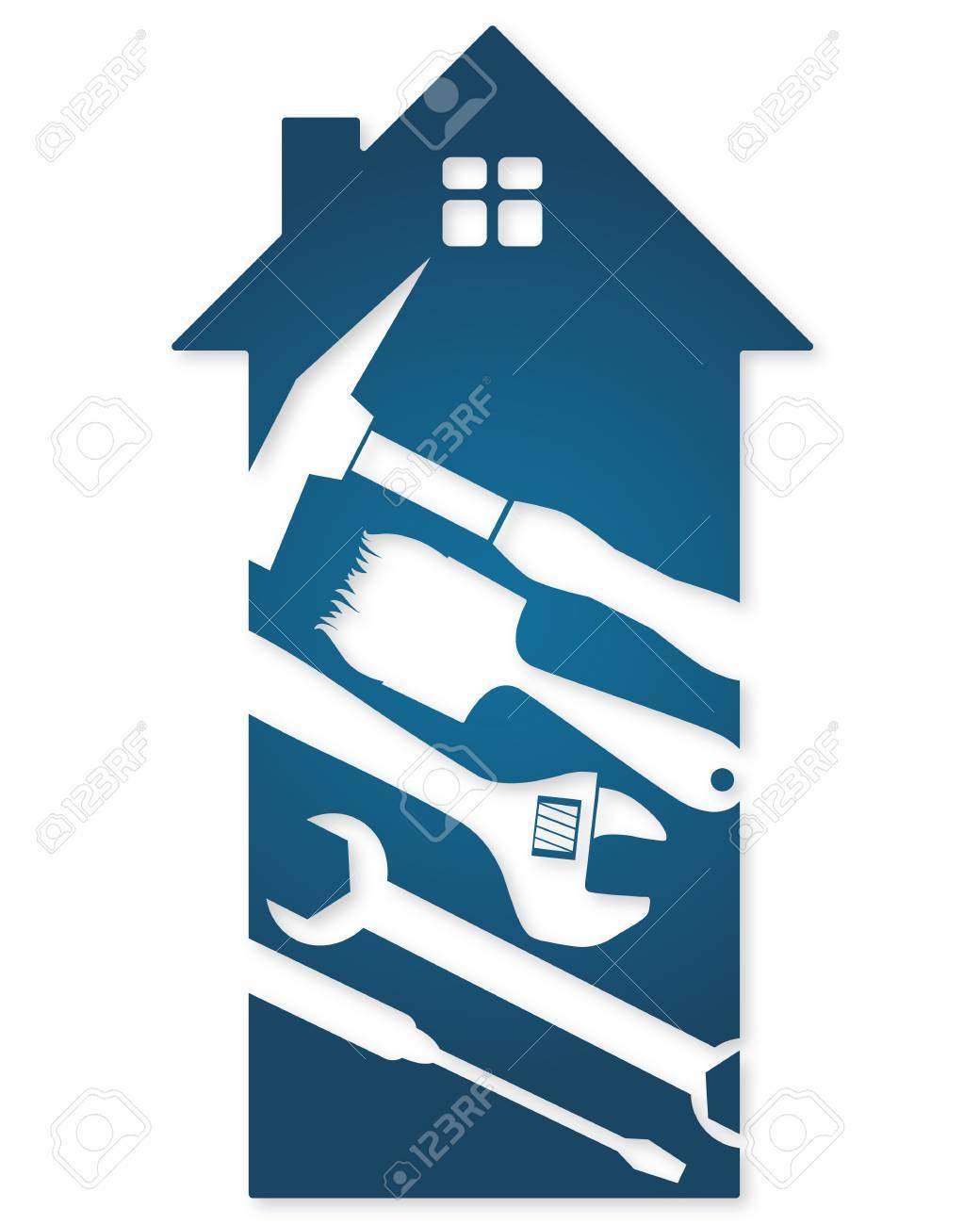 Home repair tools, a symbol of business - 51060725