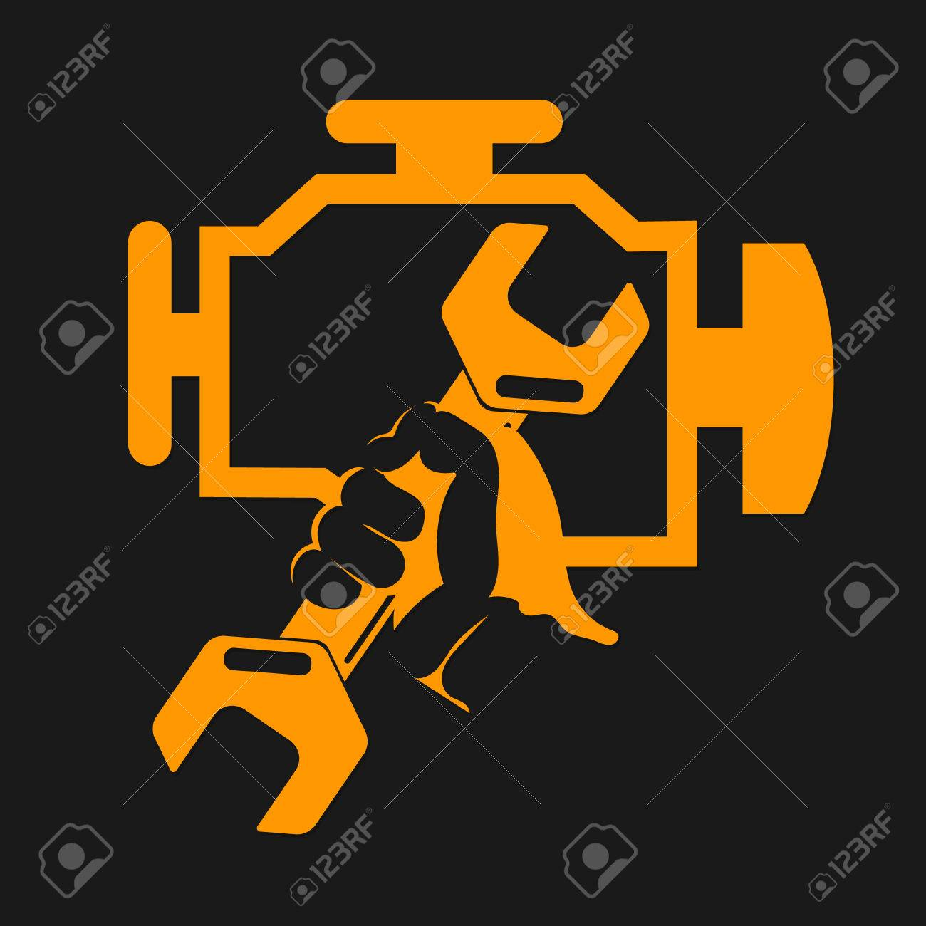 Engine repair symbol wrench in hand royalty free cliparts engine repair symbol wrench in hand stock vector 71544244 biocorpaavc Gallery