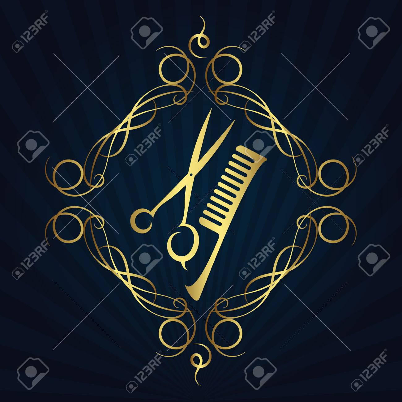 Scissors and hairbrush symbol for the hair and beauty salon scissors and hairbrush symbol for the hair and beauty salon stock vector 72208782 biocorpaavc