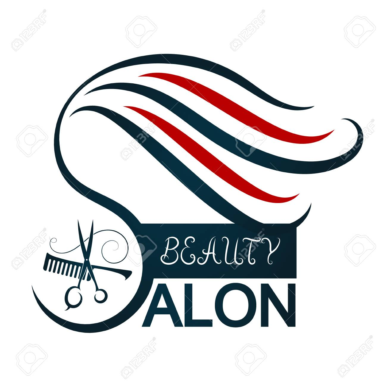 Symbols Of Beauty Salon Clipart Library