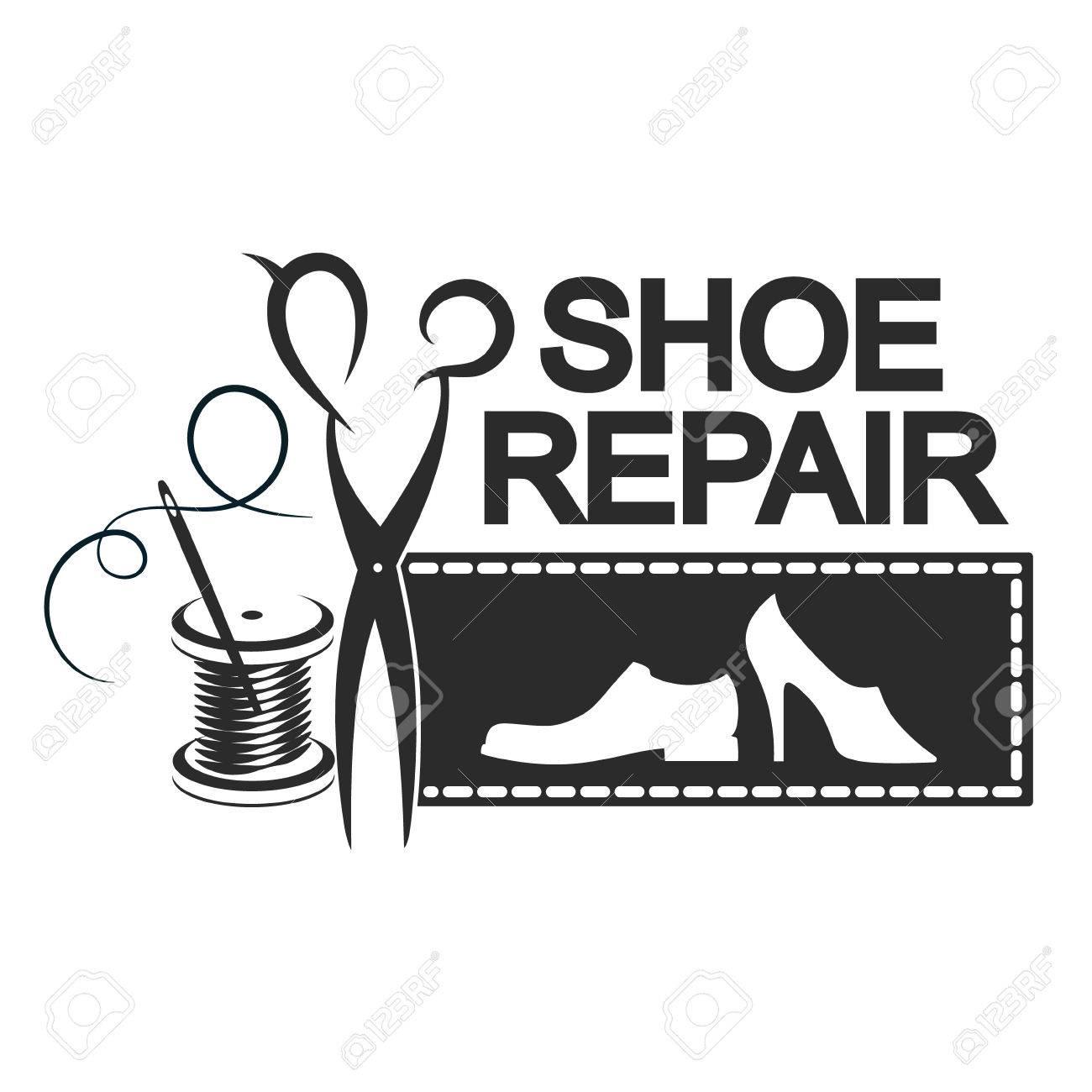 Les Chaussures Est De Pour Réparation Silhouette La Entreprises Une wPn0k8O