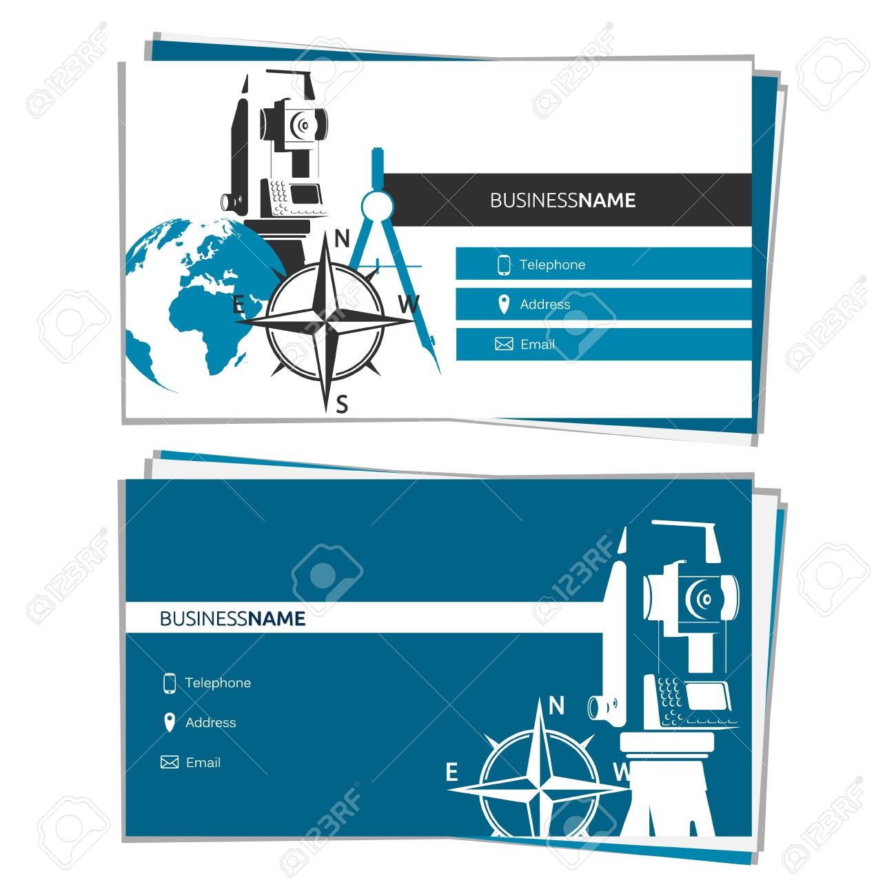 Free graphics for business cards choice image free business cards business card of surveying and mapping concept for business business card of surveying and mapping concept magicingreecefo Images