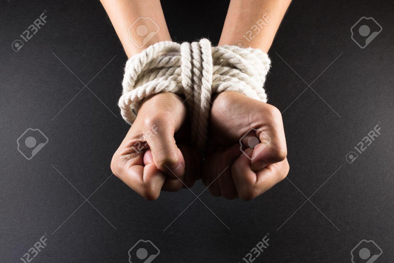 Knoten fesseln mit dem