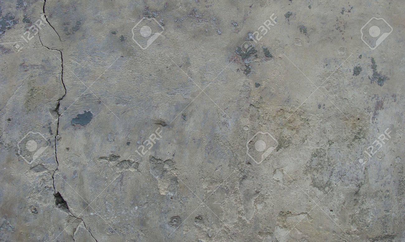 Abgenutzte Stein Beige Grau Wand Mit Schmutz, Ließ Einige Paint ... Graue Wand Und Stein