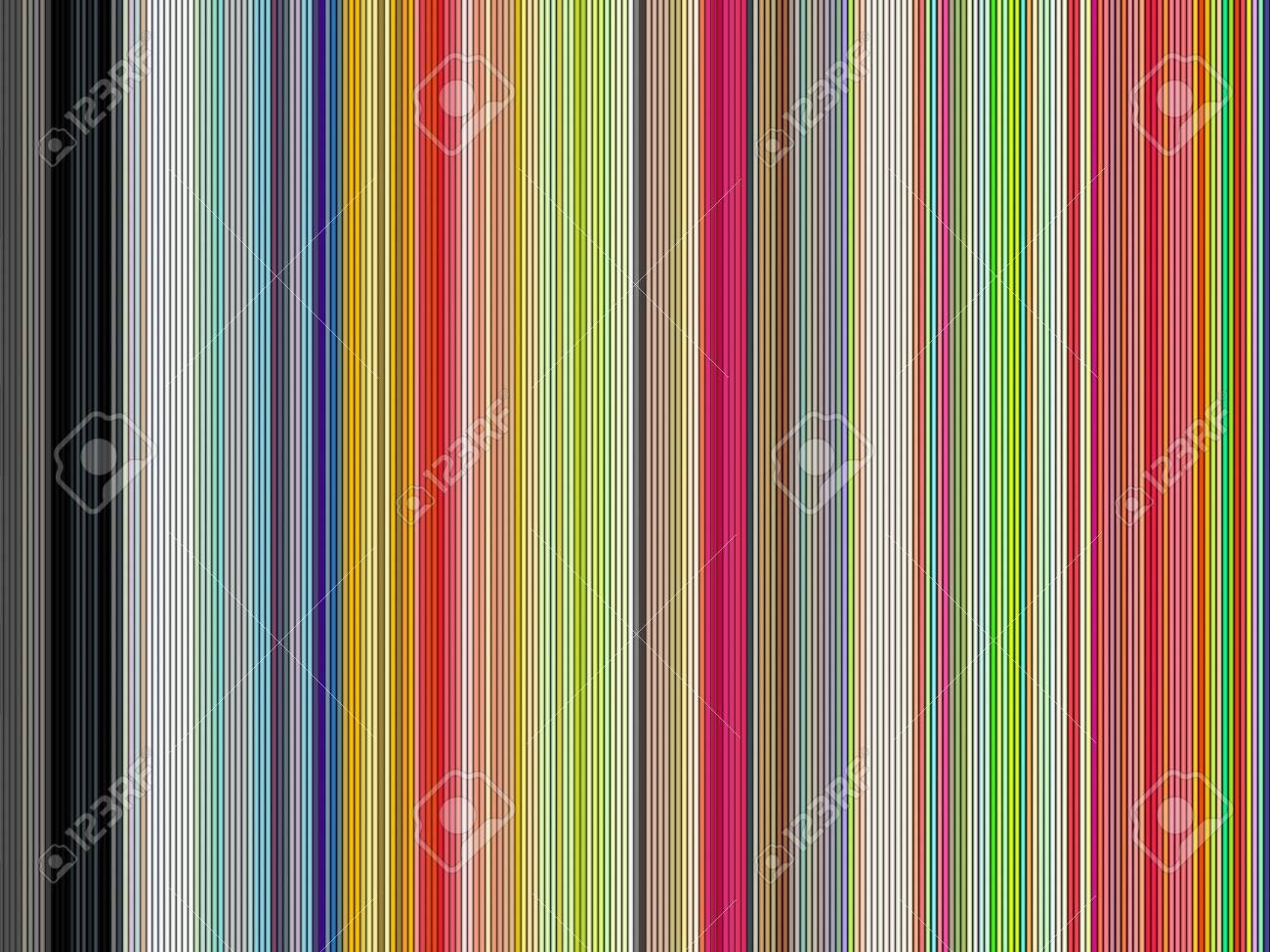 large 3d render of shaded colored tubes in different colors Stock Photo - 12204193