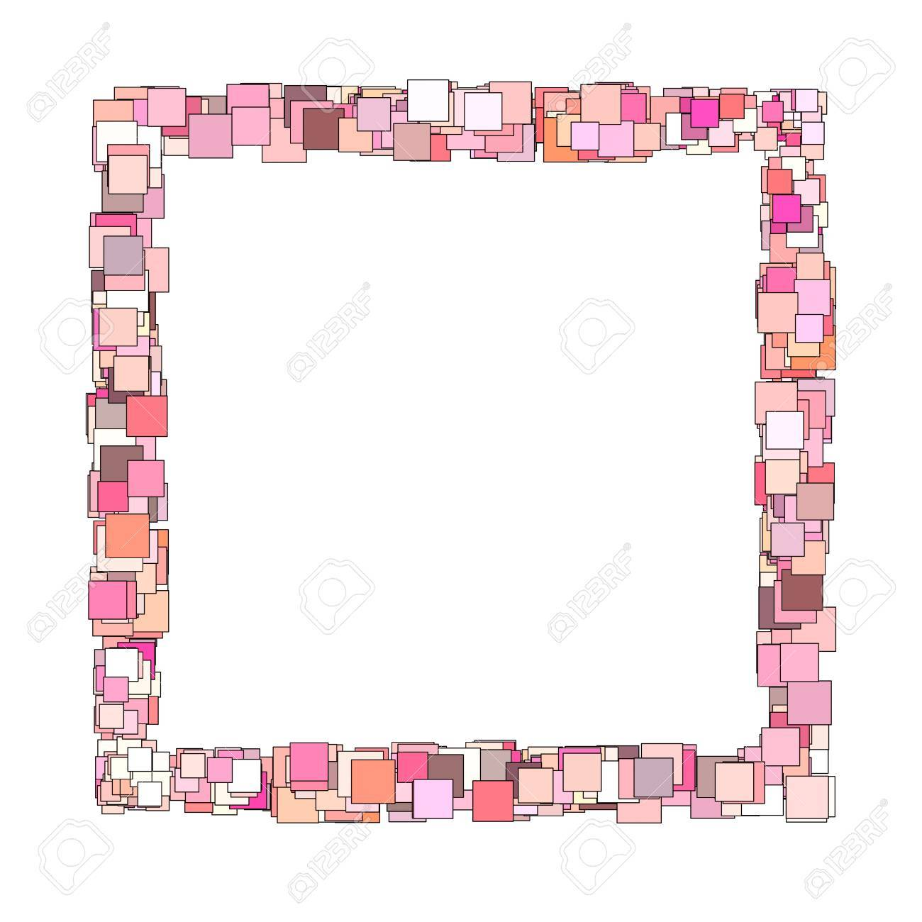 Abstract frame composition with pink magenta square plane stock abstract frame composition with pink magenta square plane stock photo 14857070 jeuxipadfo Gallery