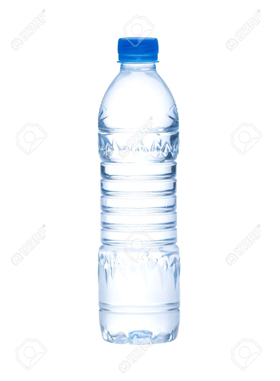 empty and clear drinking water bottle needed you to putting a