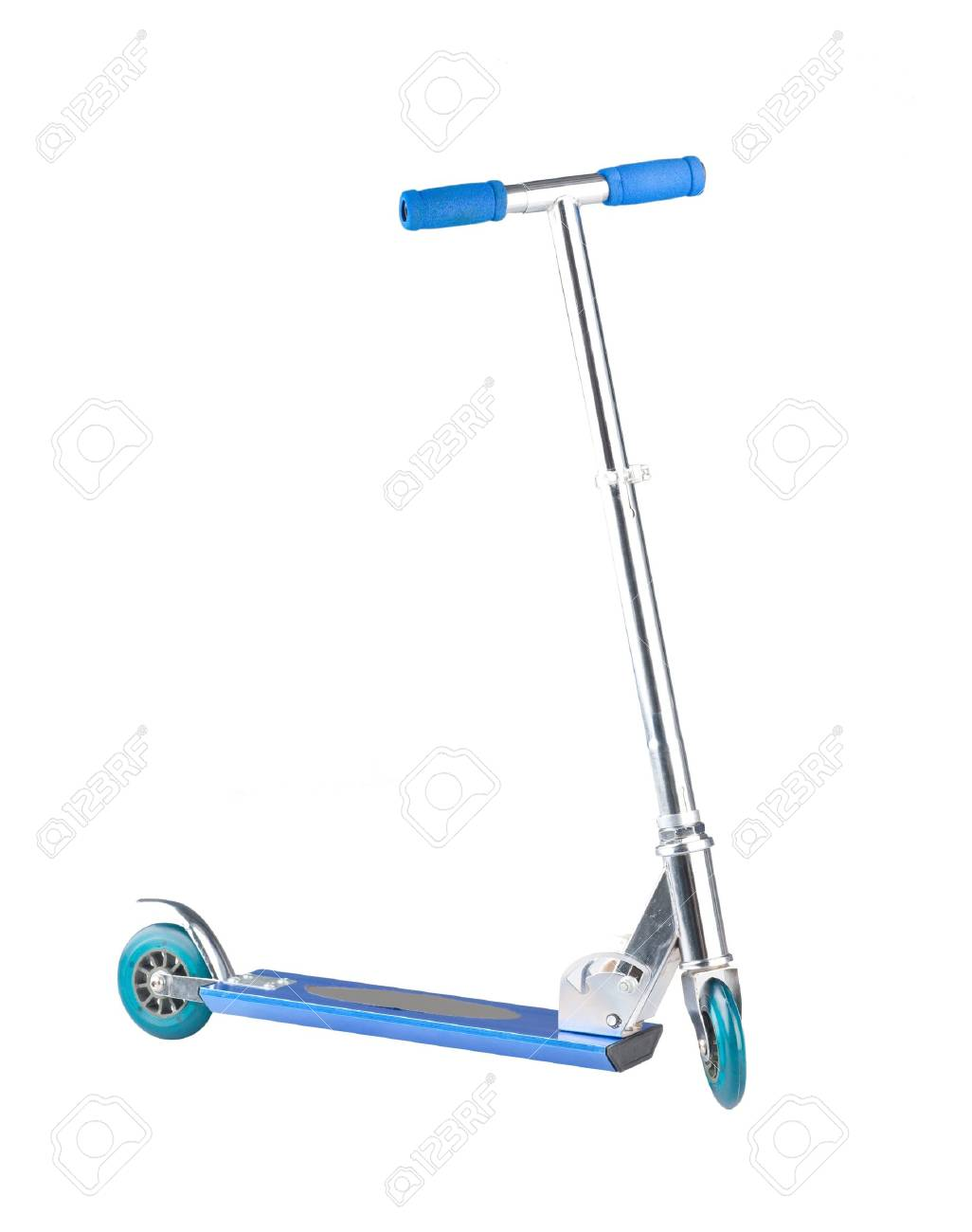 Scooter isolated on white Stock Photo - 17584003