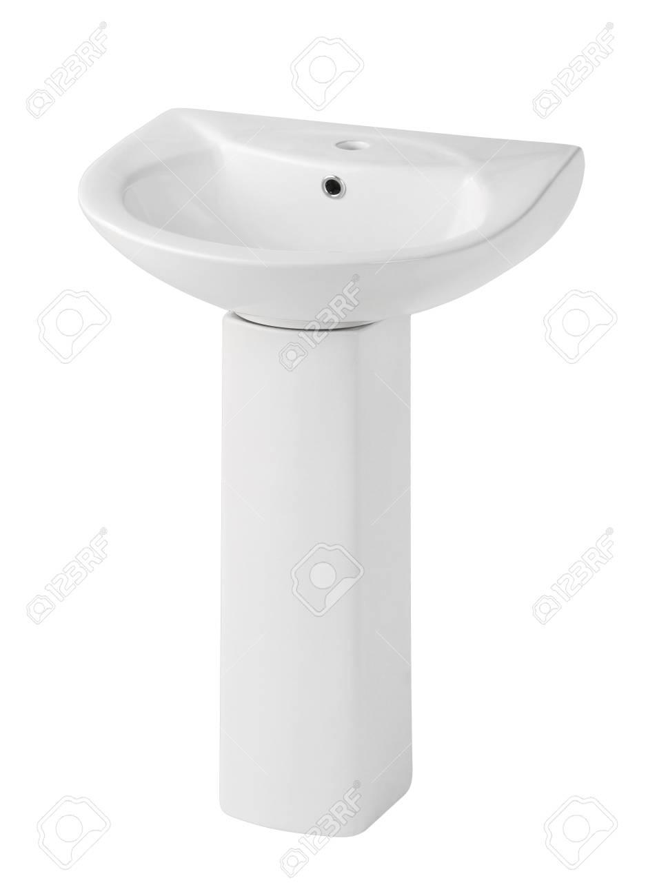 Beautiful design of the washbasin isolated Stock Photo - 18154706