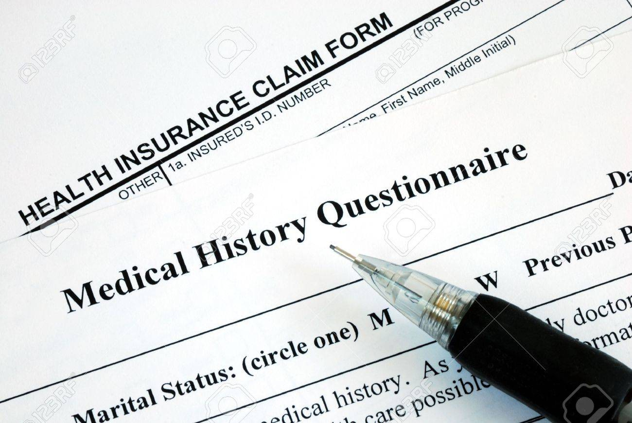 health history questionnaire
