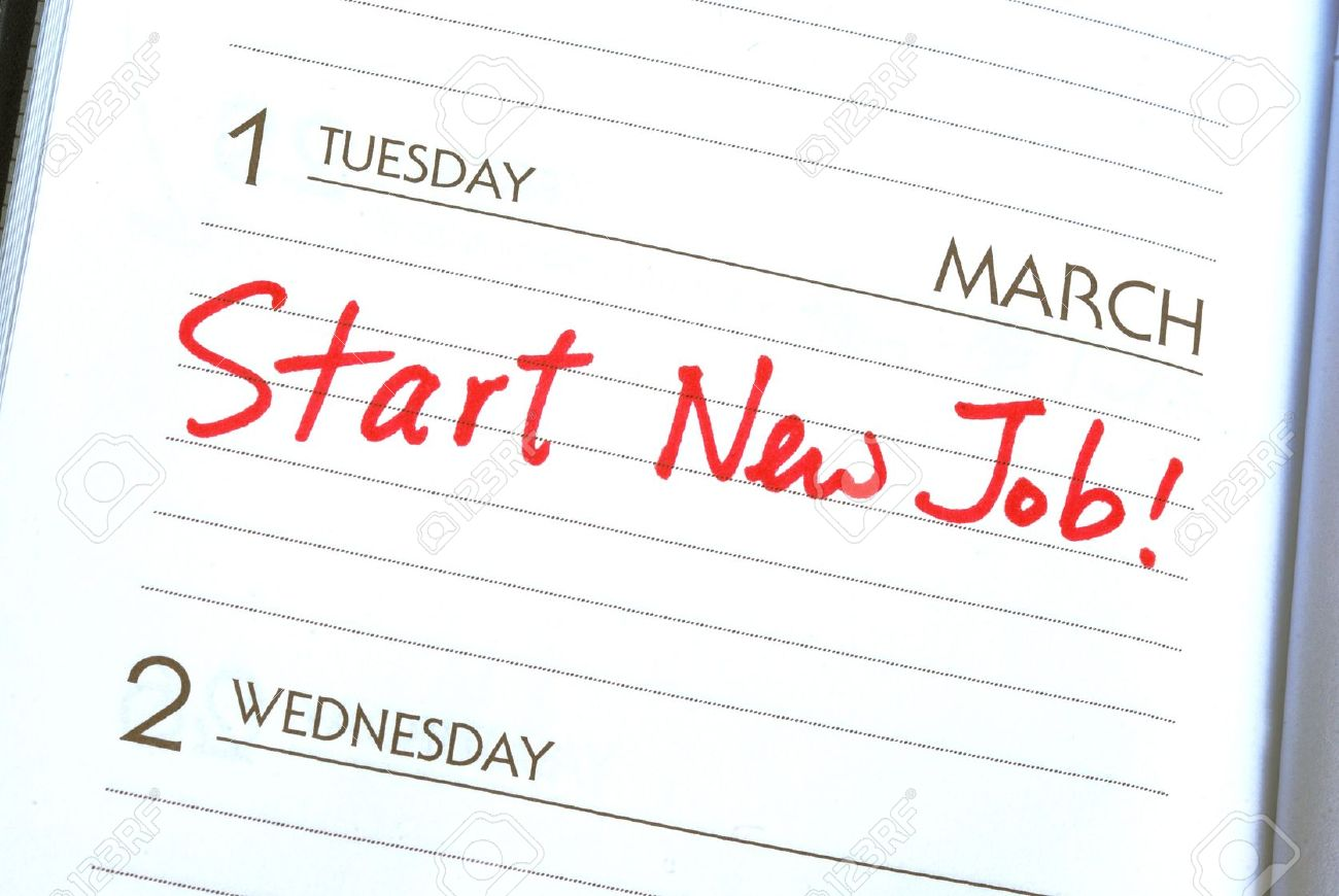 start a new job concepts of new employment stock photo picture start a new job concepts of new employment stock photo 10963521