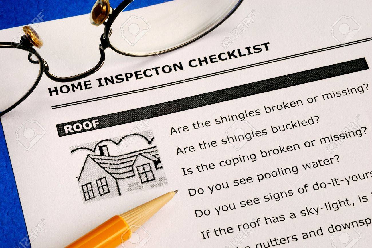 Real Estate Home Inspection Checklist And Condition Report – Home Inspection Checklist