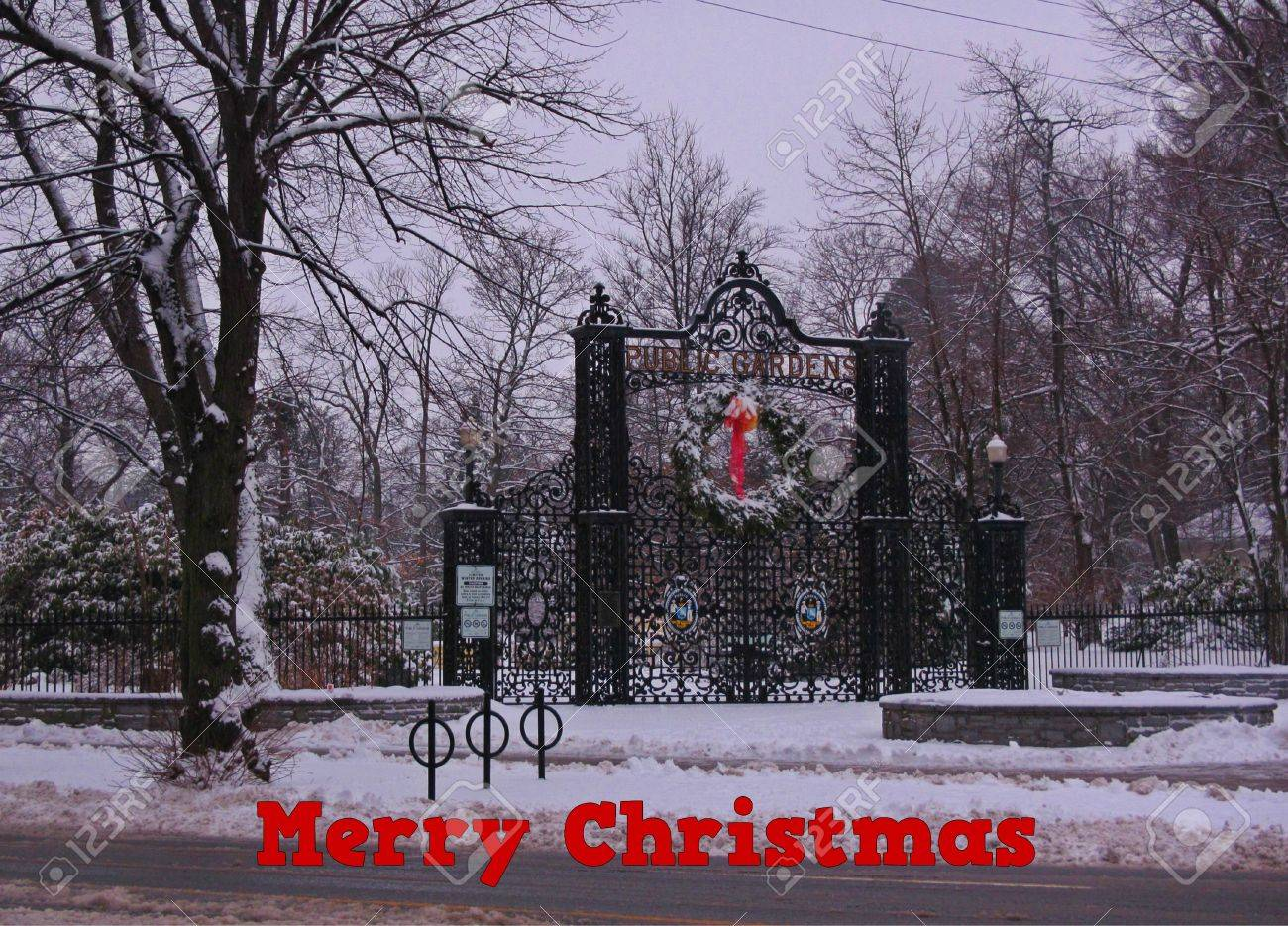 Halifax Christmas Card I Created From A Photograph Of Halifax ...