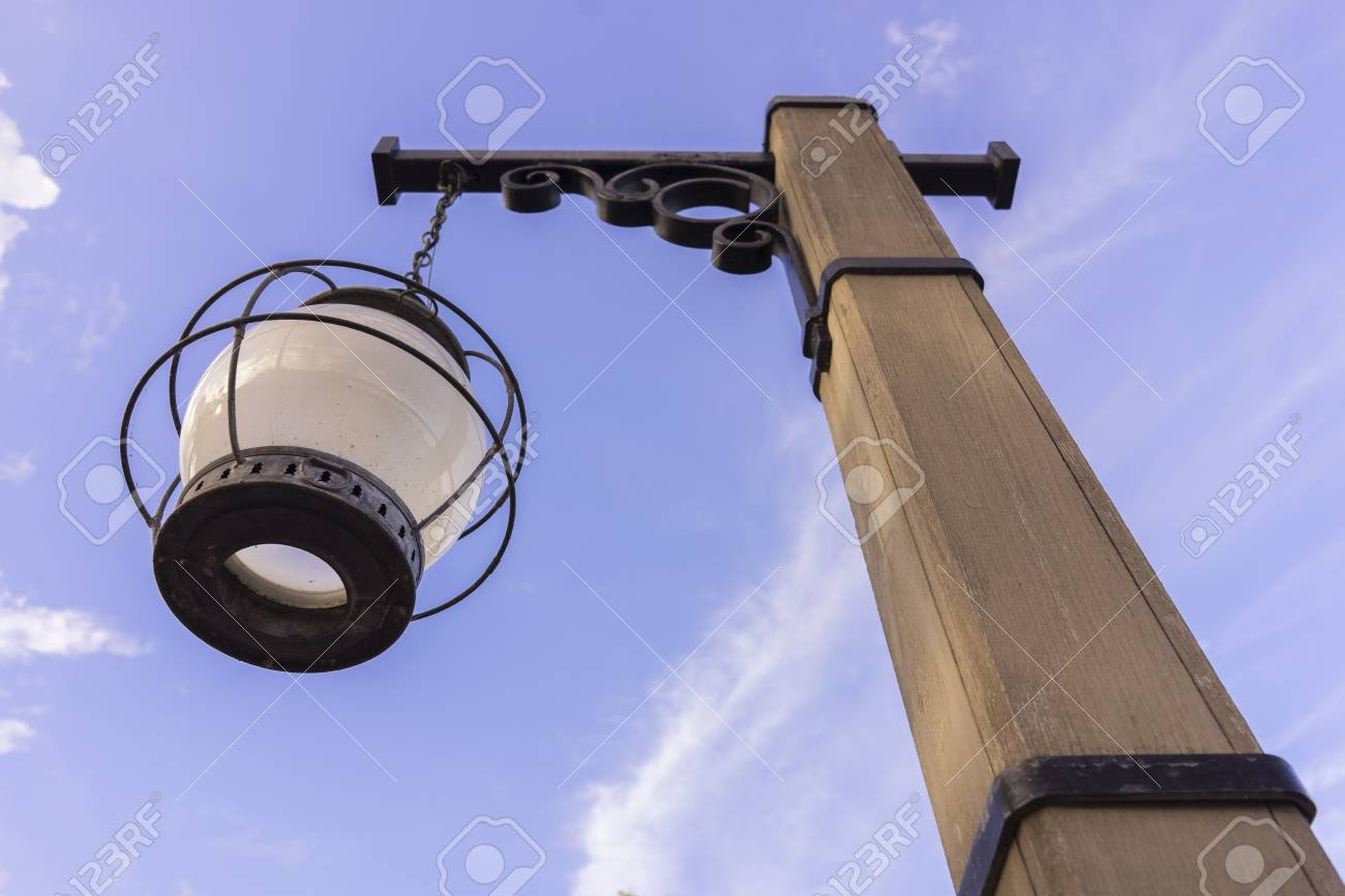 Wooden light post vintage old west and rusty stock photo picture stock photo wooden light post vintage old west and rusty aloadofball Images
