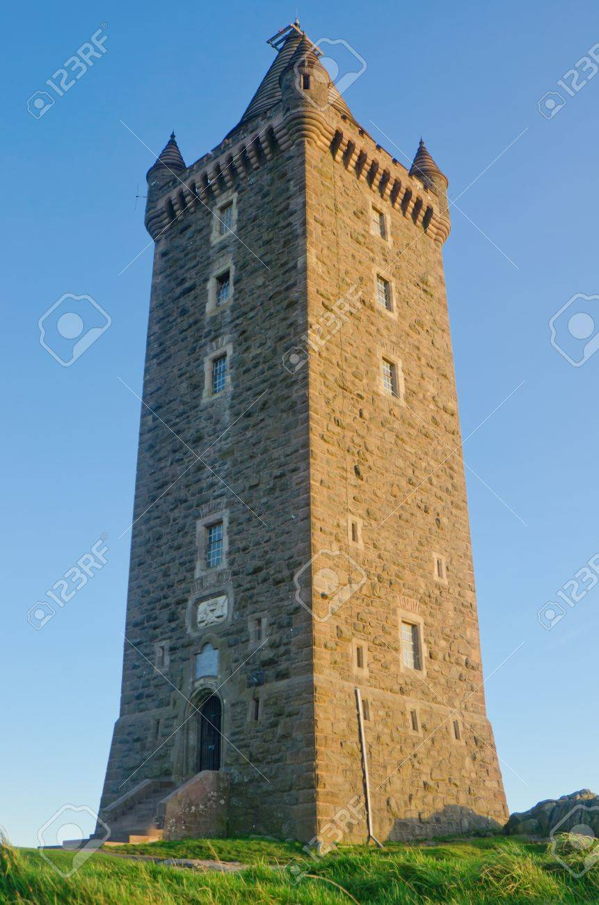Ancient Scrabo Tower in Northern Ireland Stock Photo - 11403273