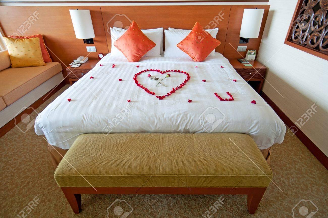 Honeymoon Suite In Fancy 5 Stars Hotel Stock Photo