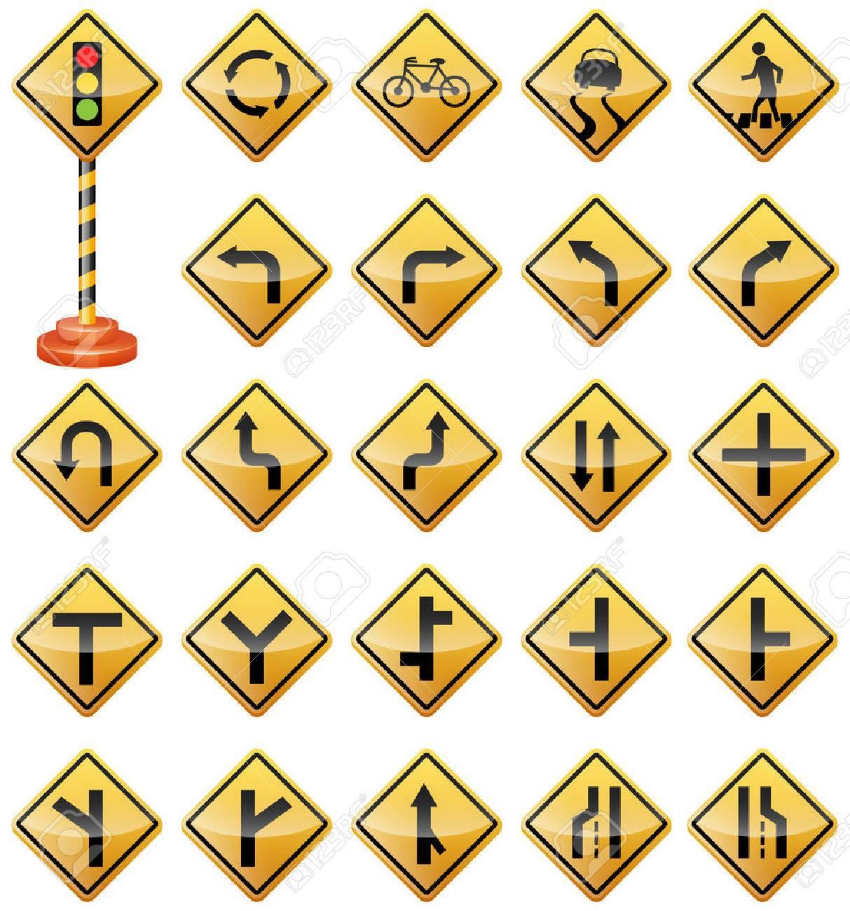 道路標識、交通標識、警戒標識、...
