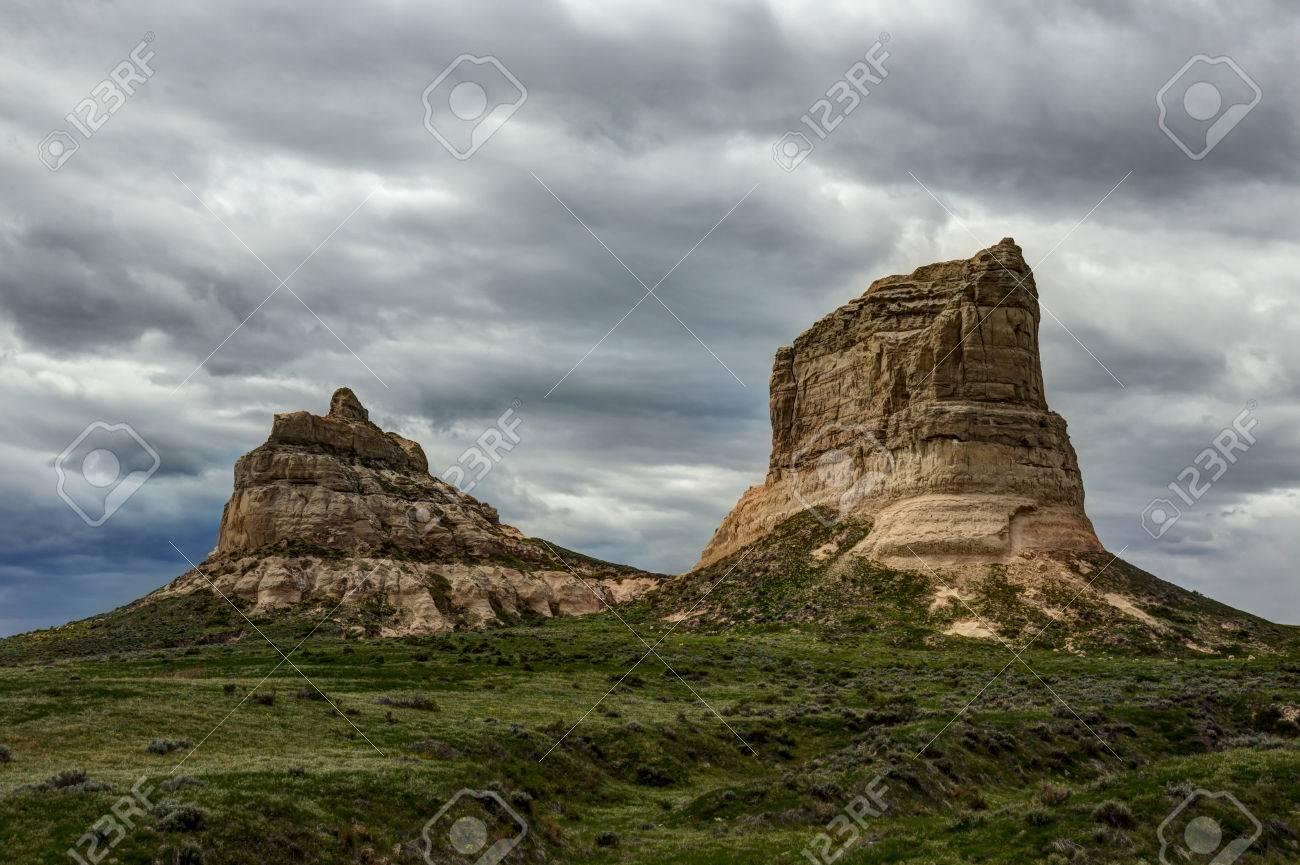 Rock Formations In Nebraska - 38687930