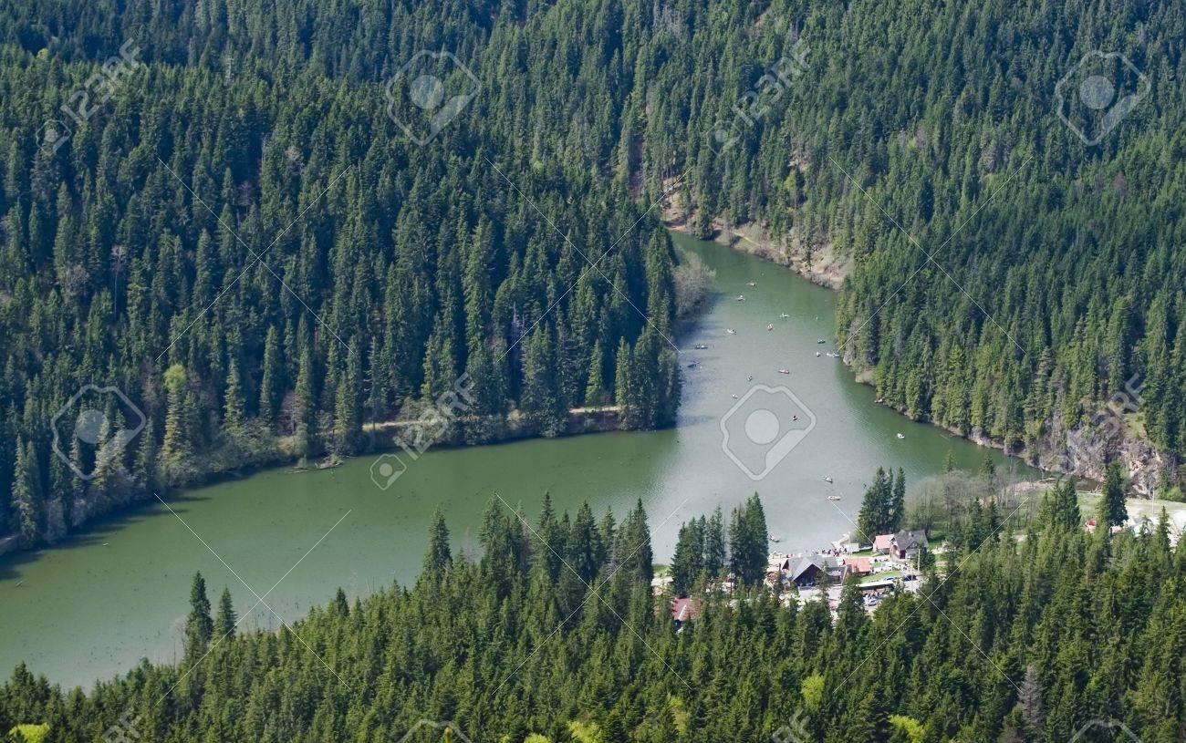 natural lake (Red Lake, Romania) - 13533140