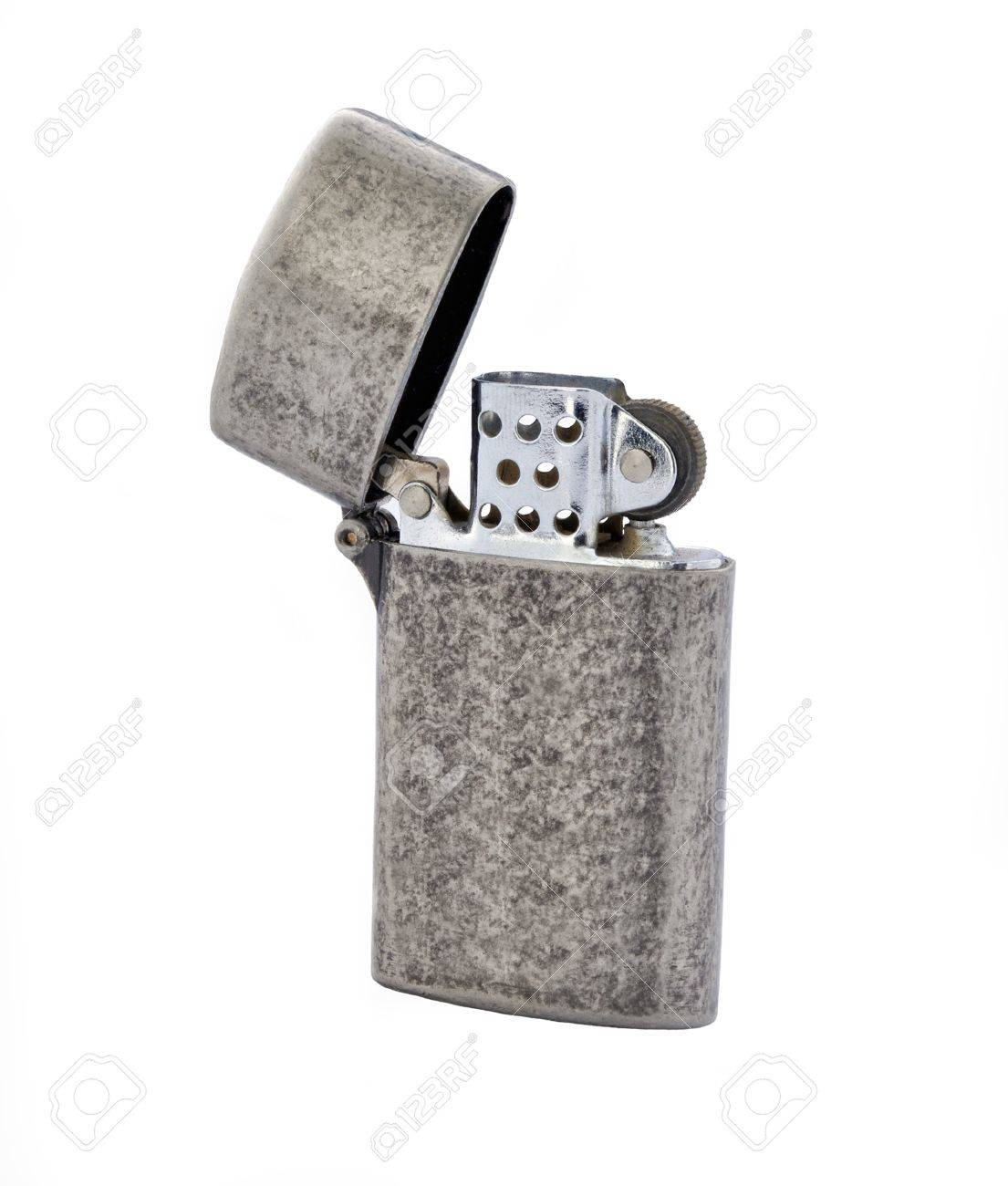 vintage fire lighter isolated on white Stock Photo - 14957014