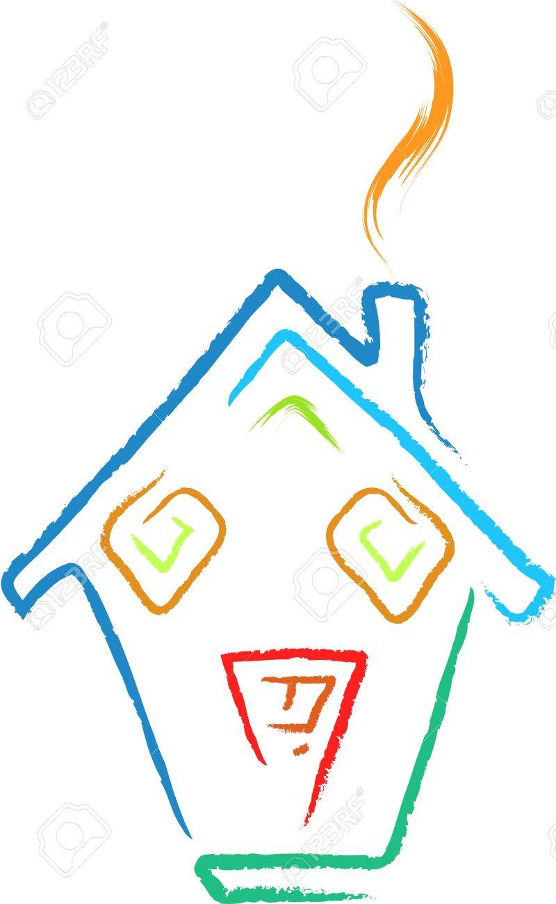 doodle house sketch Stock Vector - 16136272