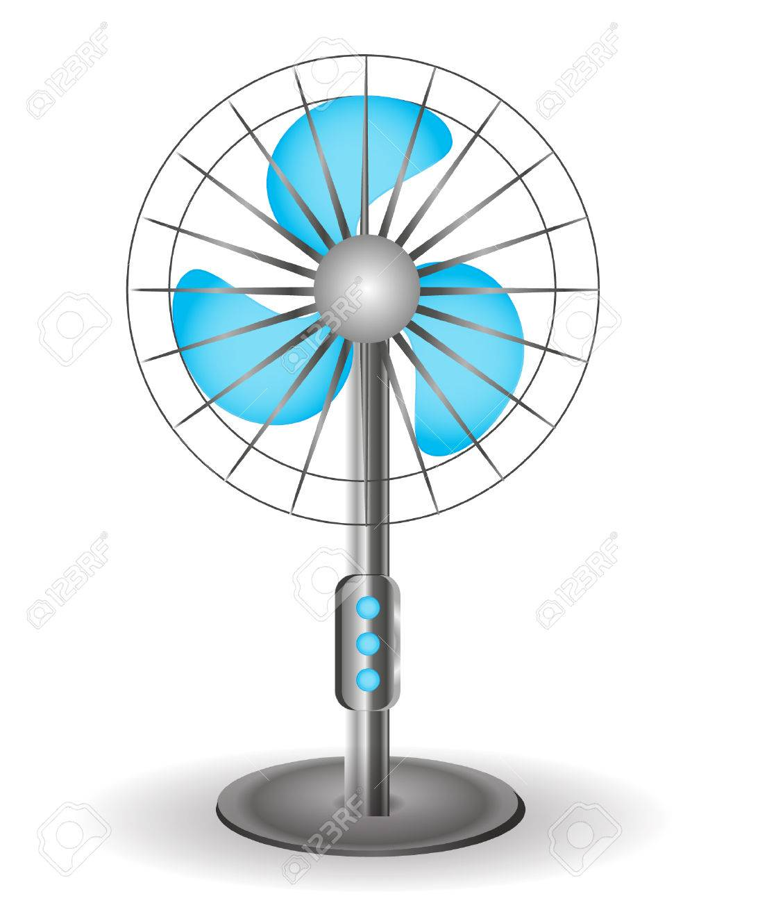 Table Fan Vector Illustration Royalty Free Cliparts Vectors And Diagram All Picture Stock 46180412