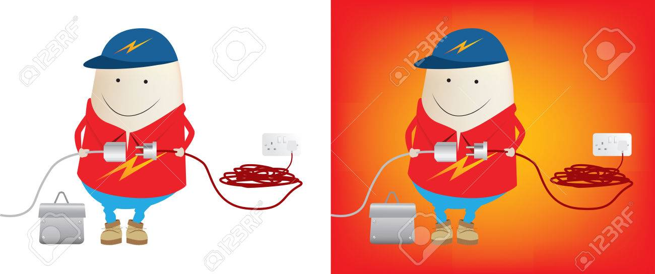 Electrician Stock Vector - 4312390