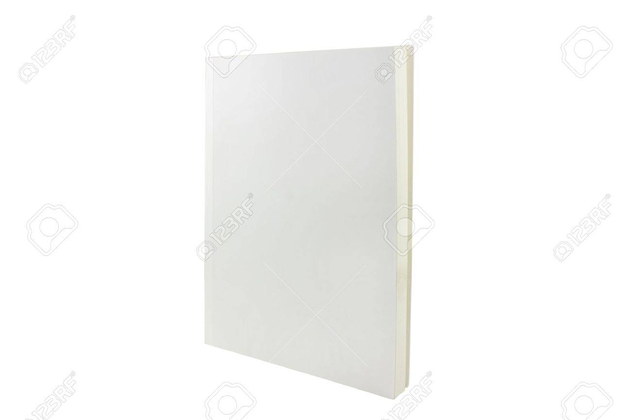 a blank book cover shot at an angle Stock Photo - 5957560