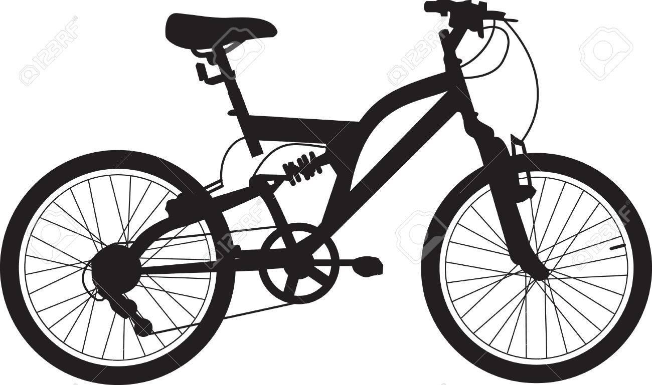 Bike Tiene Suspensión Y Un Marco De Tamaño Medio, Es De Color Negro ...