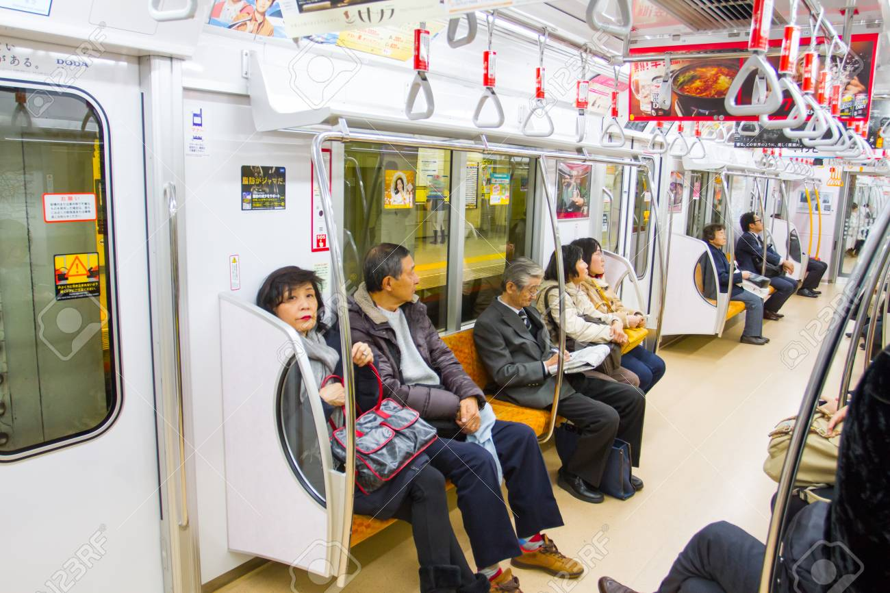 東京、日本 - 2015 年 12 月 9 日: 旅客鉄道、山手線で。運営東京で ...