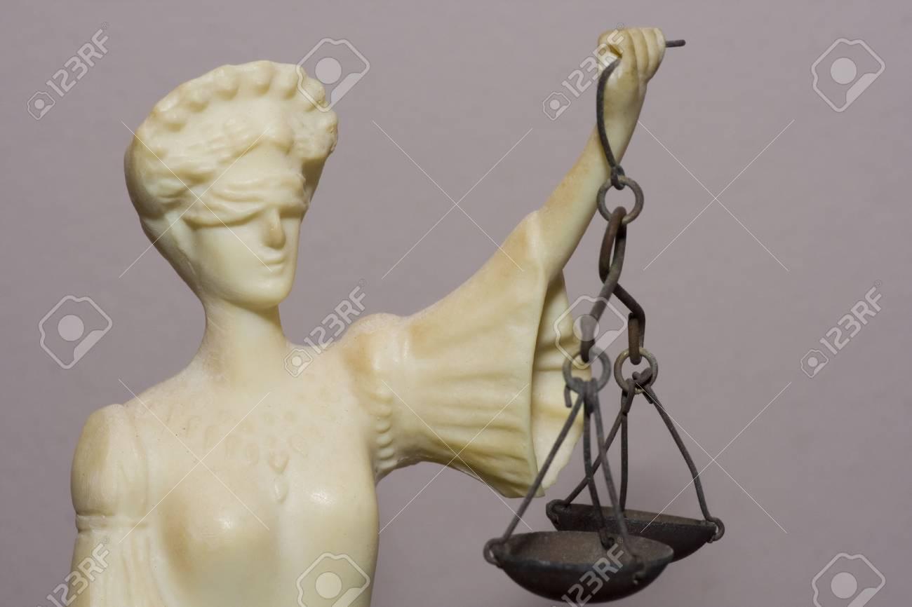 De cerca de Themis, la diosa griega de la justicia  Foto de archivo - 788331