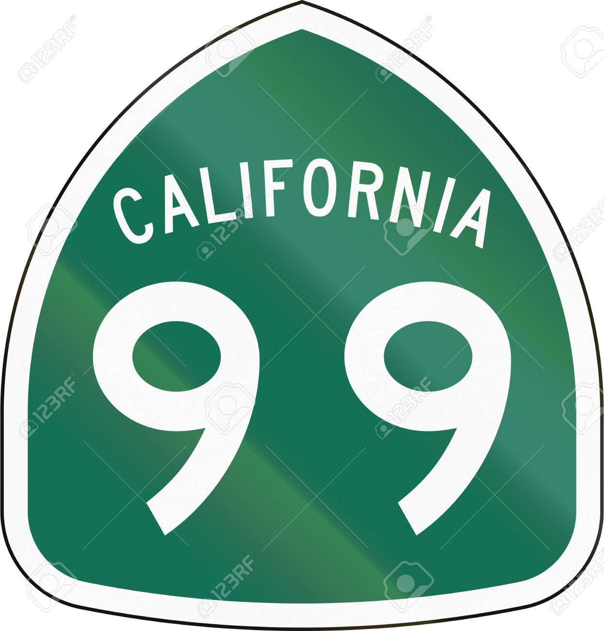 US state route shield California
