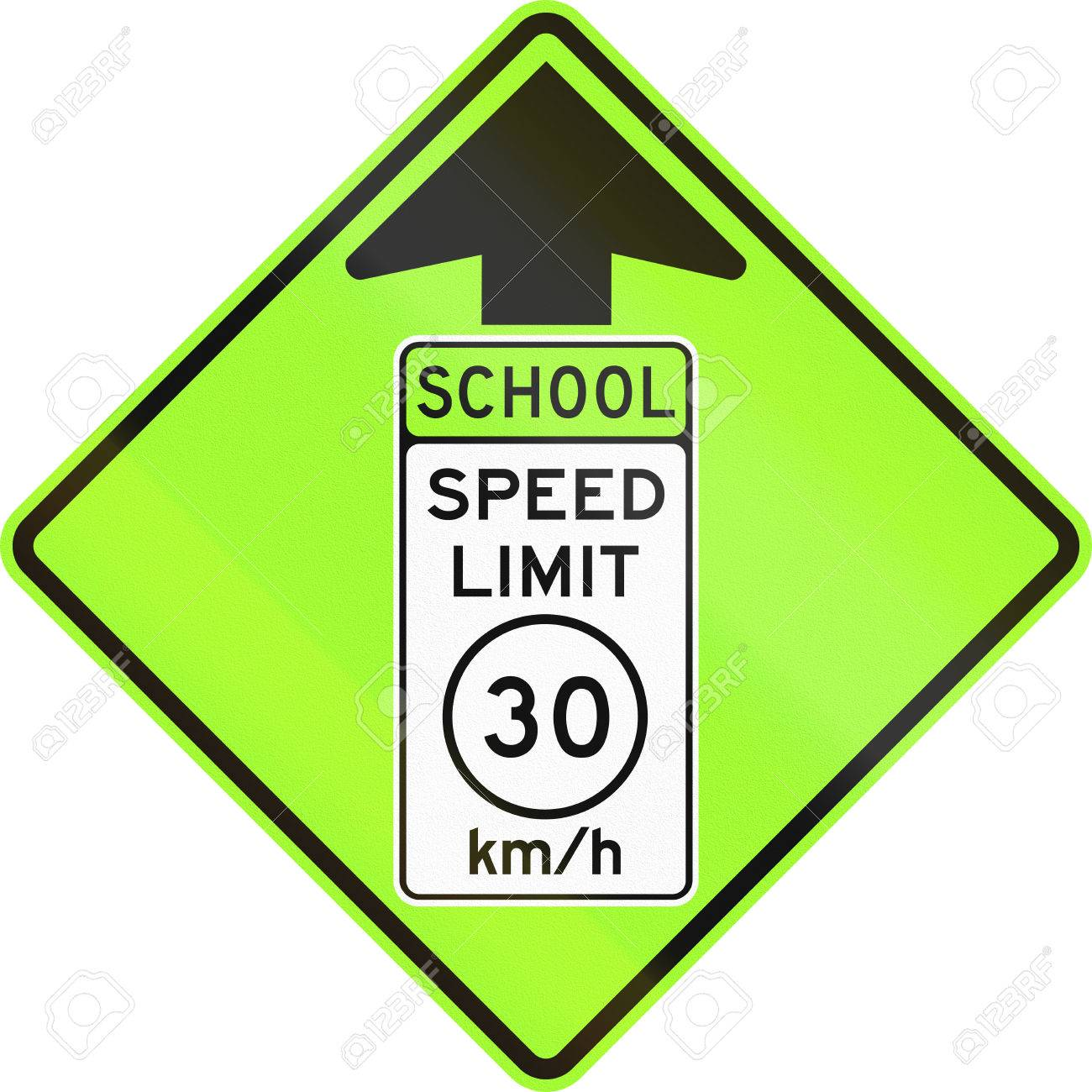 United States Mutcd School Zone Road Warning Sign Speed Limit
