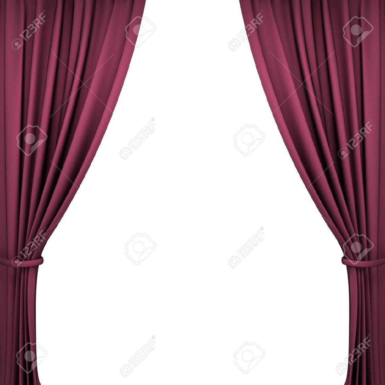 Stage curtain background open stage curtains background red stage - Red Velvet Theater Curtains On White Background Stock Photo 14813798