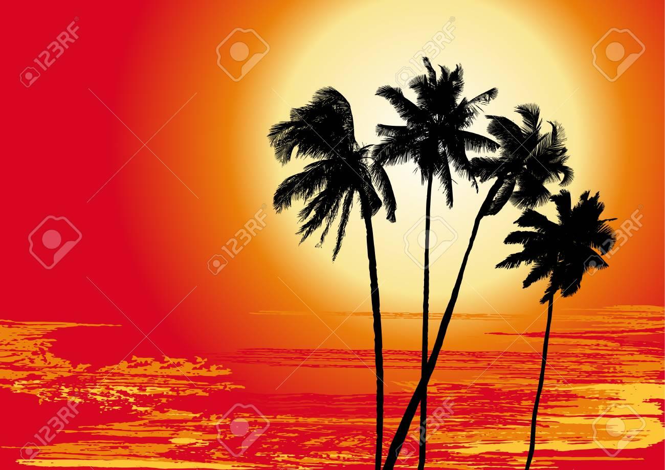 Summer holiday, vector Stock Vector - 4376667