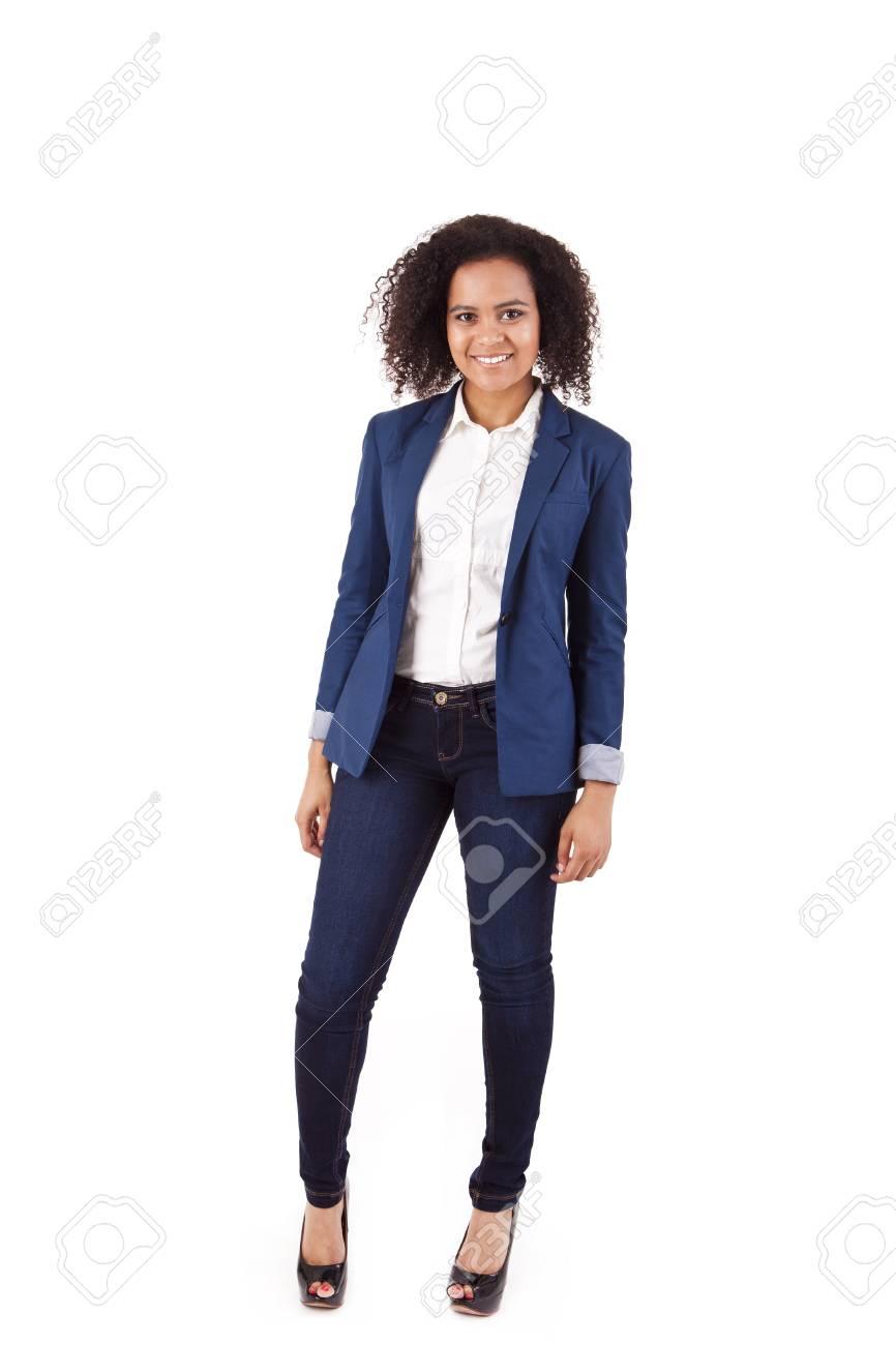 Beautiful african woman posing Stock Photo - 17242531