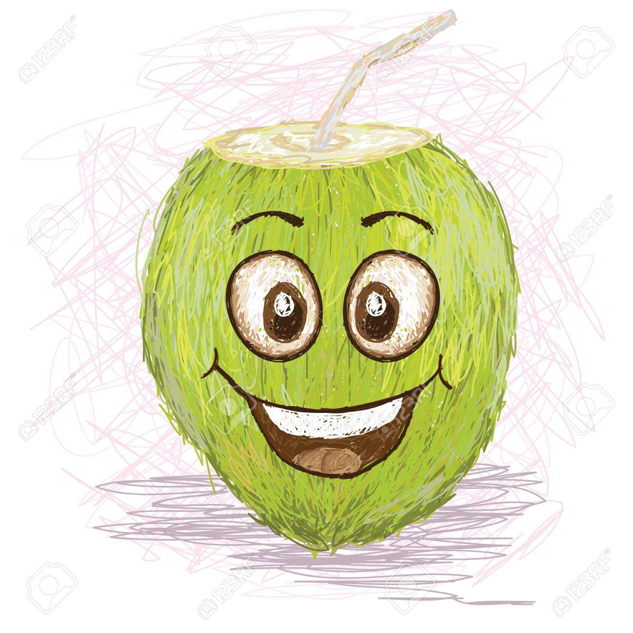 Green Juice Cartoon Juice Cartoon Character